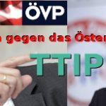 Österreichisches TTIP ÖVP FPÖ