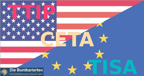 TTIP CETA TISA Österreich