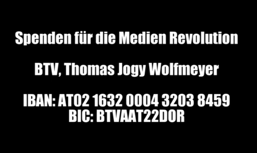 Spende Medien Revolution Vorarlberg
