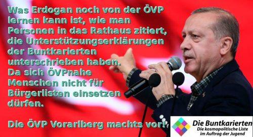 Erdogan - lernen von der ÖVP Vorarlberg