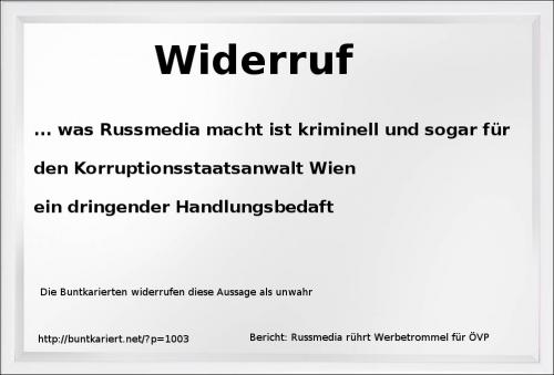 DBK Russmedia Widerruf
